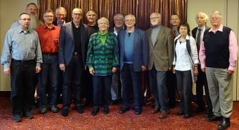 Teilnehmer der Bundesvorstandssitzung im Hotel ABACUS Berlin
