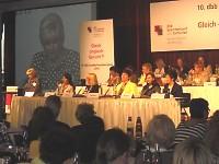 Teilnehmer des 10. Bundesfrauenkongresses